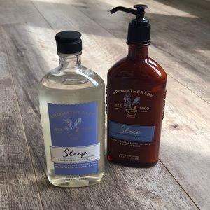 Bath & Body Works Aromatherapy Body Wash & Lotion